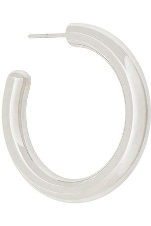 Maria Black Ruby 35 hoop earring