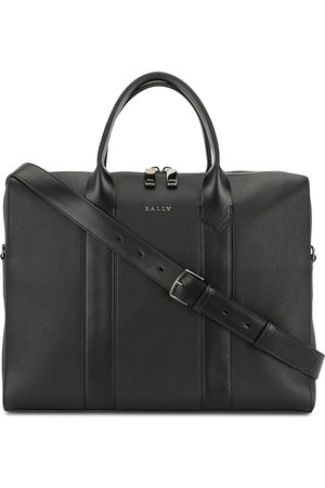 Bally Elter leather laptop bag