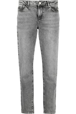 Karl Lagerfeld Mid rise Essential straight jeans
