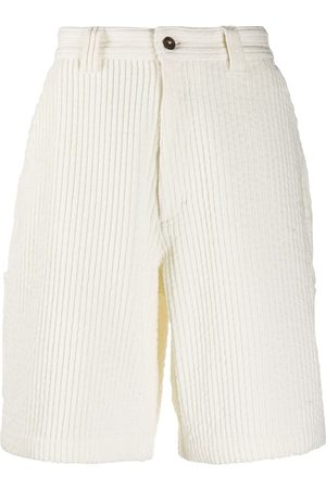 AMI Paris Multi-pocket corduroy shorts