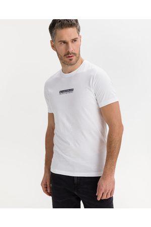 Calvin Klein Mirror Logo T-shirt White