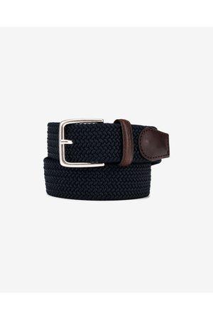 GANT Elastic Braid Belt Blue