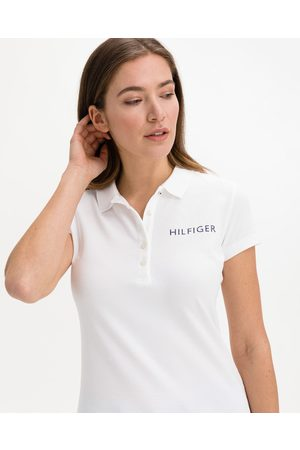 Tommy Hilfiger Crystal Polo T-shirt White