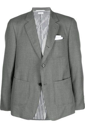 Thom Browne Homem Blazers - Patch pocket twill blazer