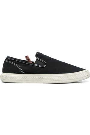Acne Studios Contrast-stitching slip-on sneakers