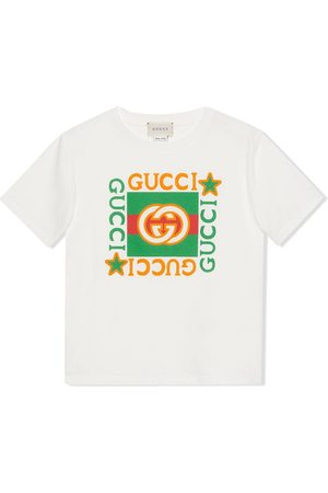 Gucci Kids Logo-print T-shirt