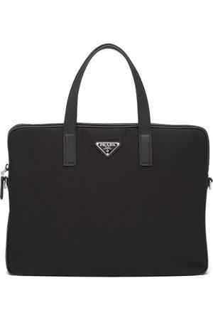 Prada Homem Pastas Negócios & Laptop - Triangle-logo briefcase