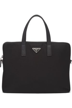Prada Triangle-logo briefcase