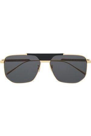 Bottega Veneta Eyewear Hexagonal-frame sunglasses