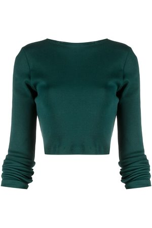 Styland Cropped long-sleeve top