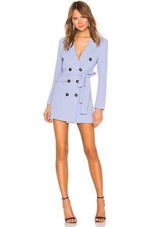 Lovers + Friends Diana Blazer Dress in - Blue. Size M (also in S).