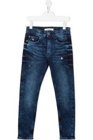 Calvin Klein Kids Menina Slim - Slim fit jeans