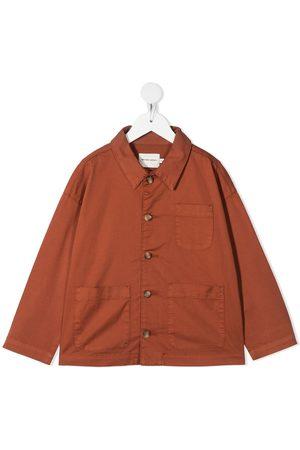 THE NEW SOCIETY Menino Formal - Patch pocket shirt jacket