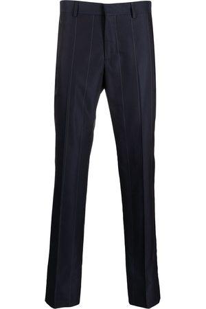GCDS Homem Calças Justas - Pinstripe slim straight-leg trousers