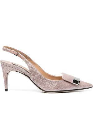 Sergio Rossi Pointed heeled pumps