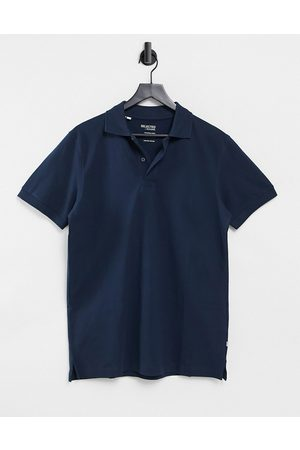 Selected Homme Polo in navy
