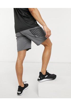 Puma ACE woven 9 inch short in grey