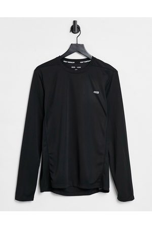 ASOS 4505 Icon training long sleeve t-shirt with quick dry in black