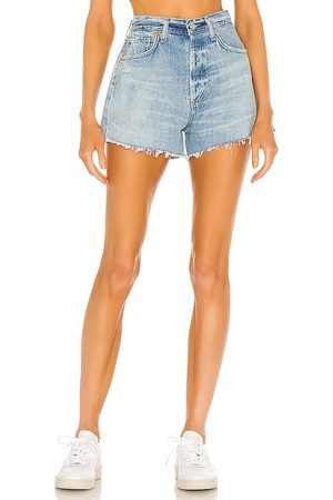 Citizens of Humanity Marlow Vintage Fit Short in - Blue. Size 23 (also in 24, 25, 26, 27, 28, 29, 30, 31, 32, 33).