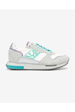 Napapijri Senhora Ténis - Vicky Sneakers White Grey
