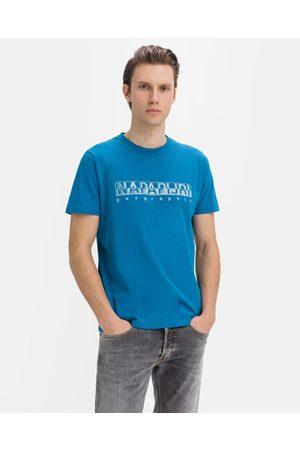 Napapijri Sallar SS T-shirt Blue
