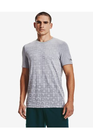 Under Armour Seamless Wordmark T-shirt Grey
