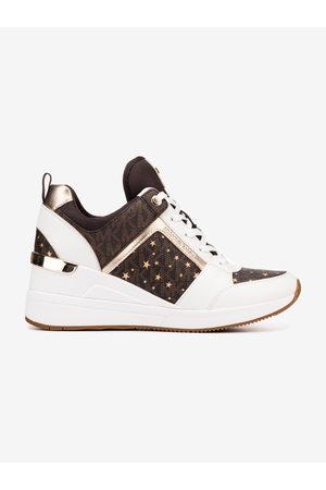 Michael Kors Georgie Trainer Sneakers Brown