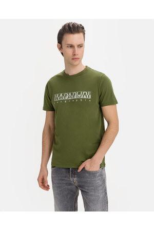 Napapijri Sallar SS T-shirt Green