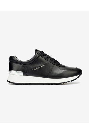 Michael Kors Senhora Ténis - Allie Trainer Sneakers Black