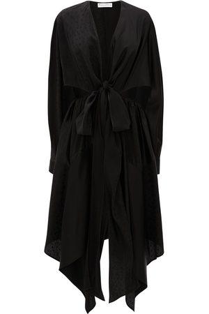 J.W.Anderson Mulher Vestidos Assimétricos - Asymmetric cut-out dress