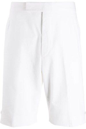 Thom Browne Cotton backstrap shorts