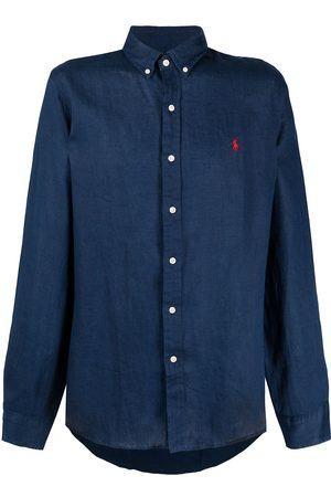 Polo Ralph Lauren Homem Formal - Polo Pony linen shirt