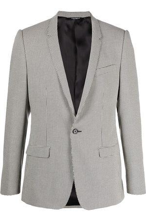 Dolce & Gabbana Homem Blazers - Houndstooth print blazer