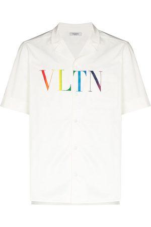 VALENTINO Homem T-shirts & Manga Curta - VLTN logo print T-shirt