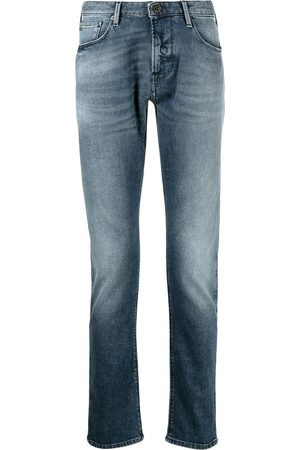 Emporio Armani Washed slim-fit jeans