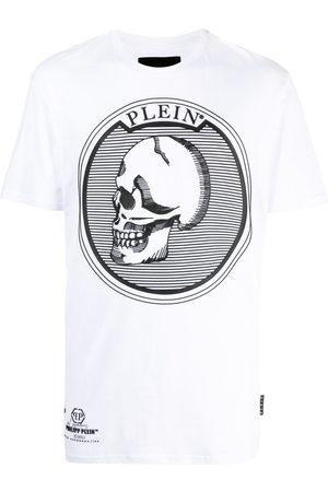 Philipp Plein Logo skull-print T-shirt