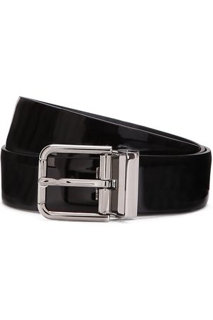 Dolce & Gabbana High-shine finish buckle-fastening belt