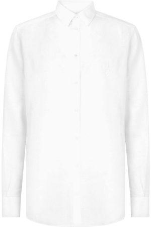Dolce & Gabbana Homem Formal - Linen button-up shirt