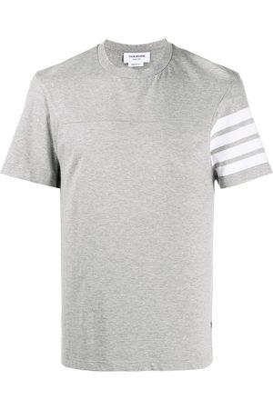 Thom Browne 4-Bar stripe short-sleeve T-shirt