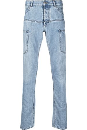 Balmain Homem Jeans - Multi-pocket skinny jeans