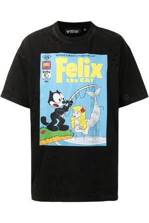 MOSTLY HEARD RARELY SEEN Vintage finishing Felix T-shirt