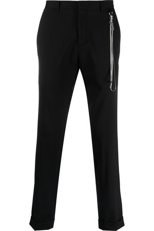 John Richmond Alderbaran chain-trim trousers