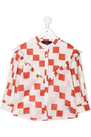 The Animals Observatory Checker-print shirt