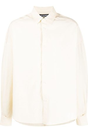 Jacquemus Crinkle-effect buttoned shirt