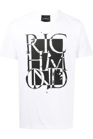 John Richmond Graphic logo-print T-shirt