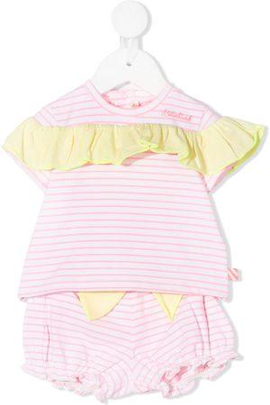 Billieblush Striped-print shorts set