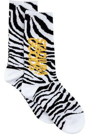 Stadium Goods Homem Meias - Zebra-print socks