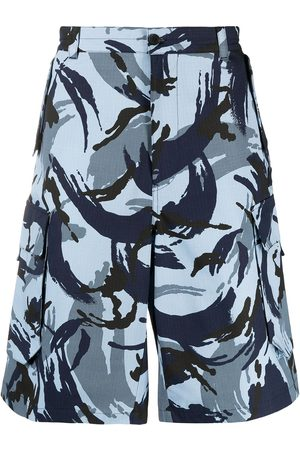 Kenzo Tropic Camo cargo shorts