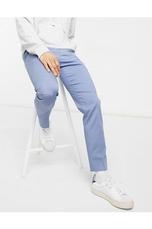 River Island Slim suit trouser in blue