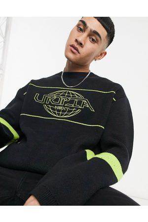 Weekday Jochum Utopia Sweater in Black